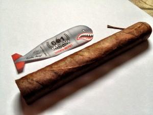Warhead cigar and band