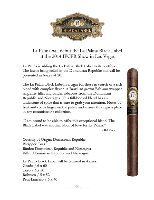 la palina black whole