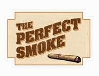 Perfect smoke logo
